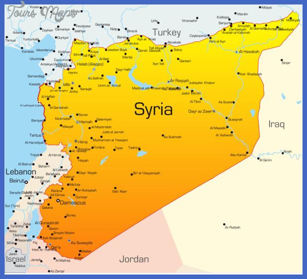 syriamap1 Syria Map