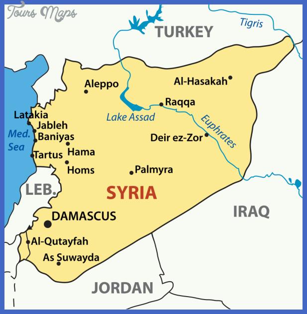 syriamap2 Syria Map