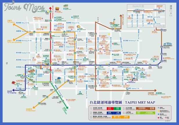 taipei map  2 Taipei Map