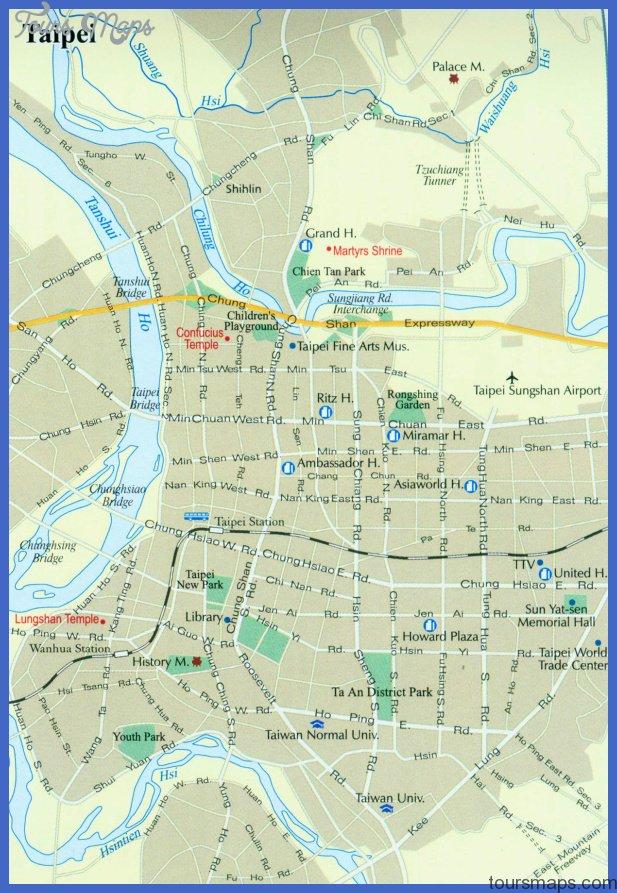 taipei map Taipei Map