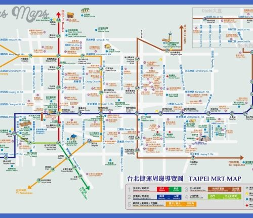 Taipei Metro Map Pdf Archives Map Travel Holiday Vacations - Sweden metro map pdf