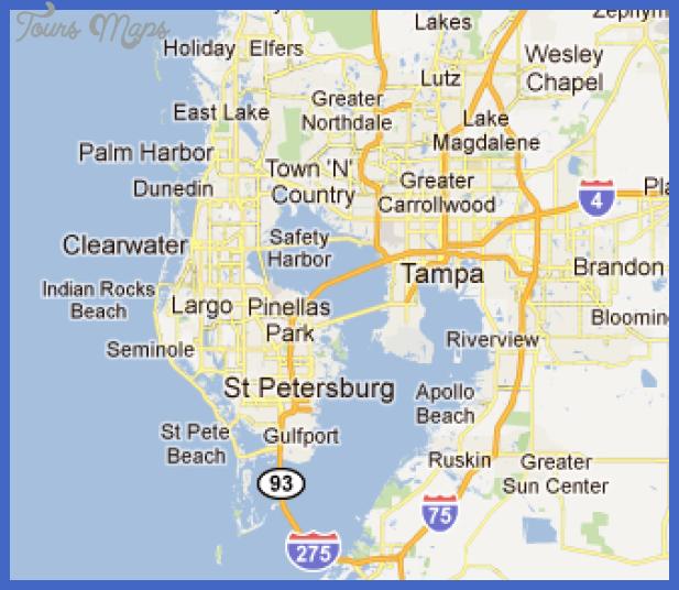 tampast petersburg subway map  18 Tampa St. Petersburg Subway Map