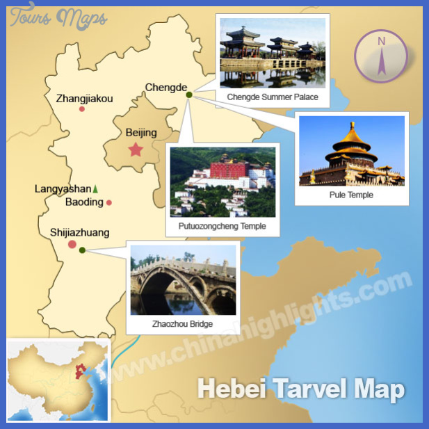 tangshan map tourist attractions  27 Tangshan Map Tourist Attractions