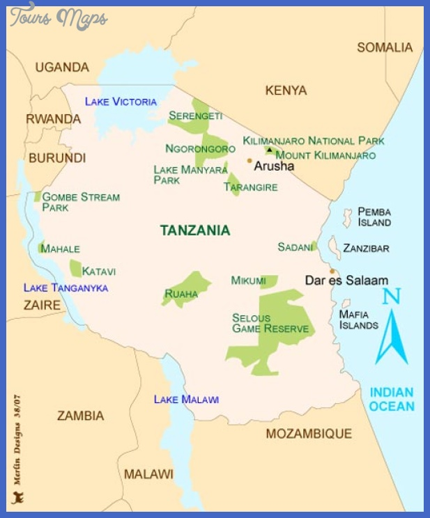 tanzania Tanzania Subway Map