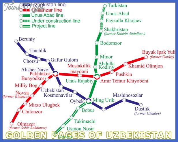 tashkent subway map  0 Tashkent Subway Map