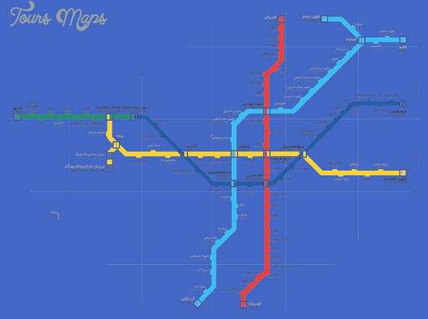 tehran metro Tehran Metro Map