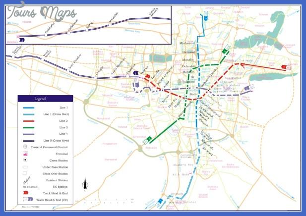 tehranroutes m 01 Tehran Metro Map