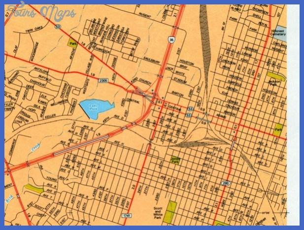temple city map mediumthumb Laredo Map
