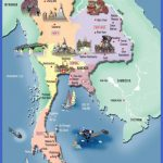 thailandmap 000 150x150 Thailand Map Tourist Attractions