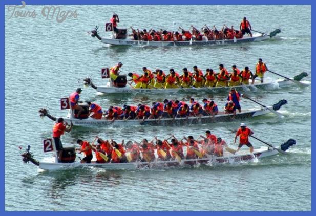 the dragon boat race  0 THE DRAGON BOAT RACE