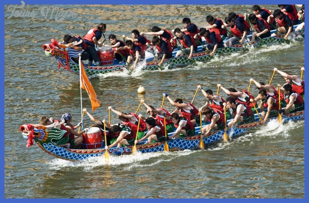 the dragon boat race  5 THE DRAGON BOAT RACE