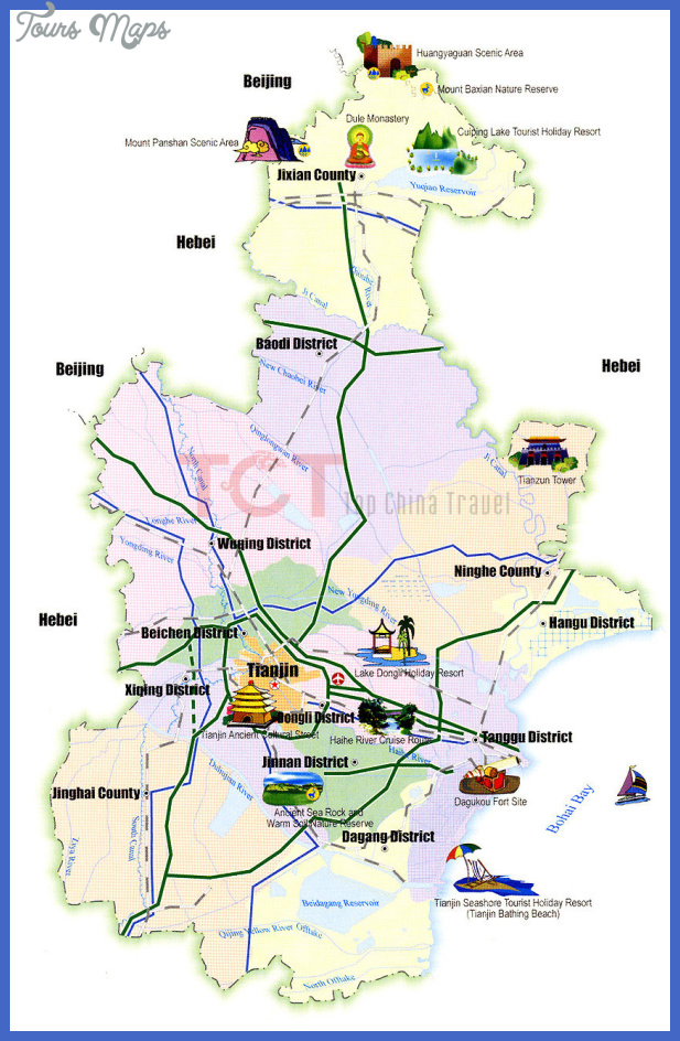 Tianjin Map Tourist Attractions _0.jpg