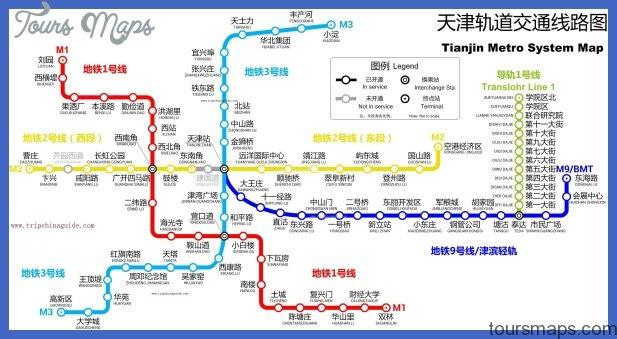 tianjin metro map  45 Tianjin Metro Map