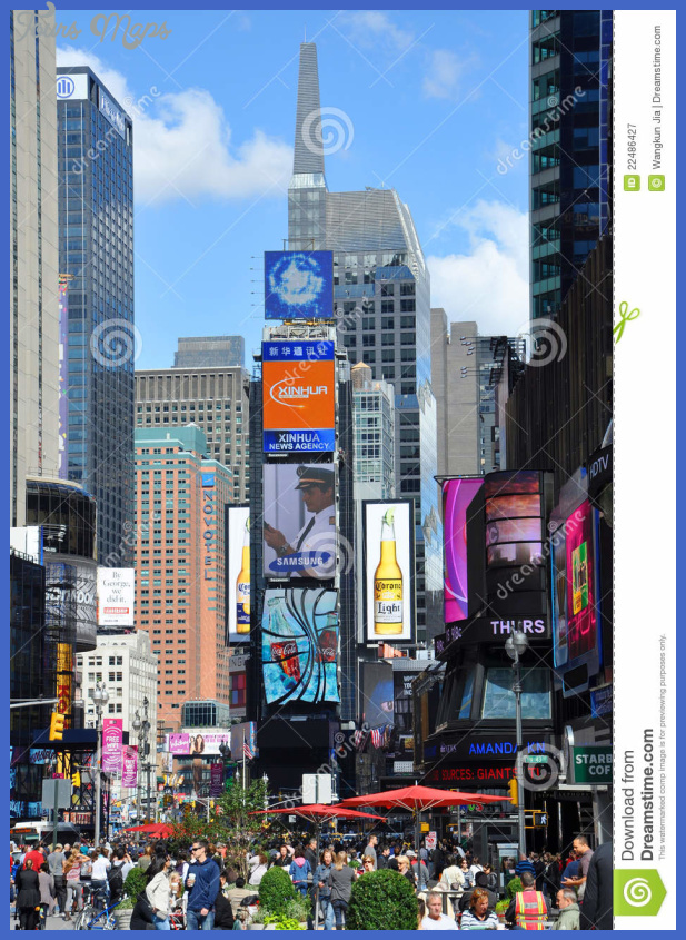 Times Square And Broadway New York Toursmaps Com