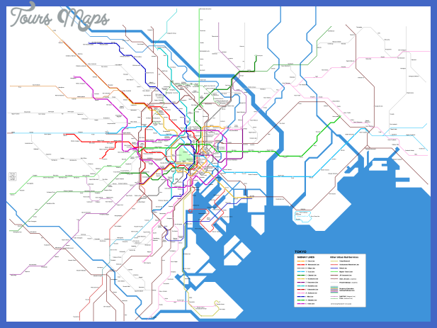 tokyo map transport subway other urban rail services Karachi Subway Map
