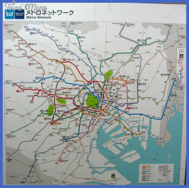 tokyo metro map Tokyo Metro Map