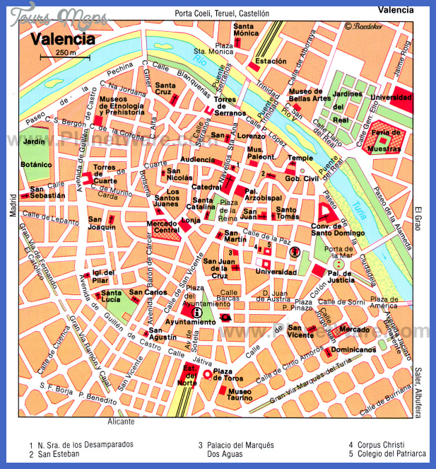 toledo map tourist attractions  7 Toledo Map Tourist Attractions