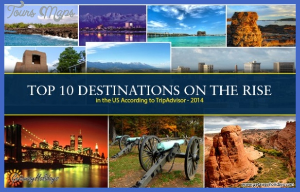 top 10 destinations in usa 2014 tripadvisor 634x400 Best states to visit in the USA