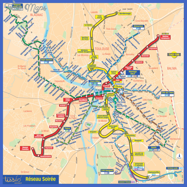 toulouse metro map Somalia Metro Map