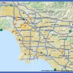 tourist attractions in los angeles map 150x150 Los Angeles Map Tourist Attractions