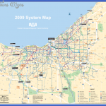transportation map of cleveland 150x150 Cleveland Map