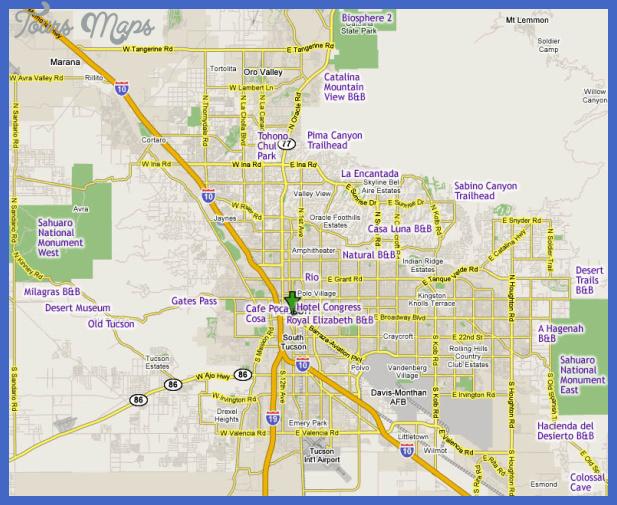 tucson google Tucson Map
