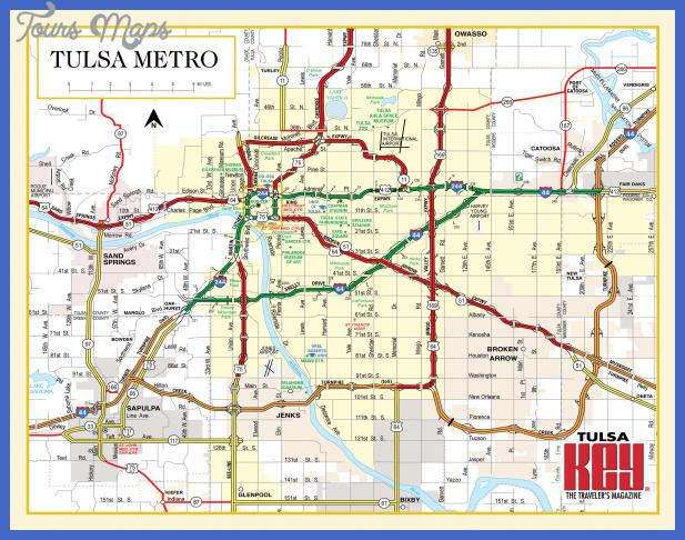 tulsa metro map  0 Tulsa Metro Map
