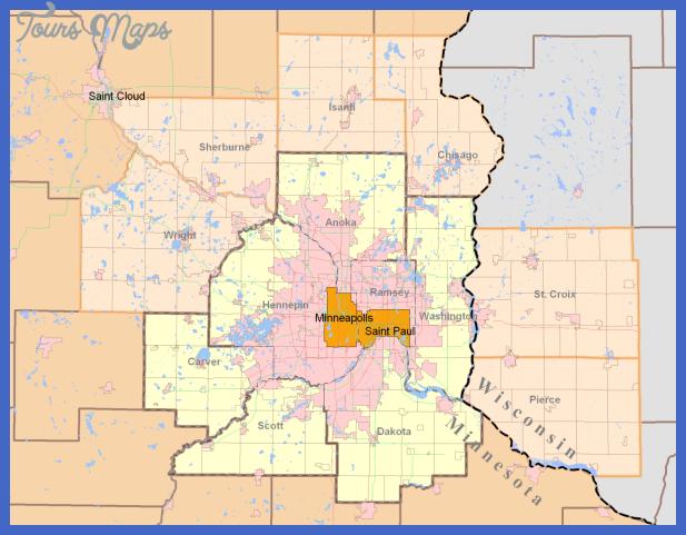 Minneapolis Subway Map.Minneapolis St Paul Subway Map Toursmaps Com