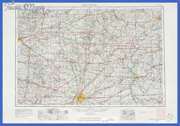 txu pclmaps topo us fort wayne 1962 Fort Wayne Metro Map