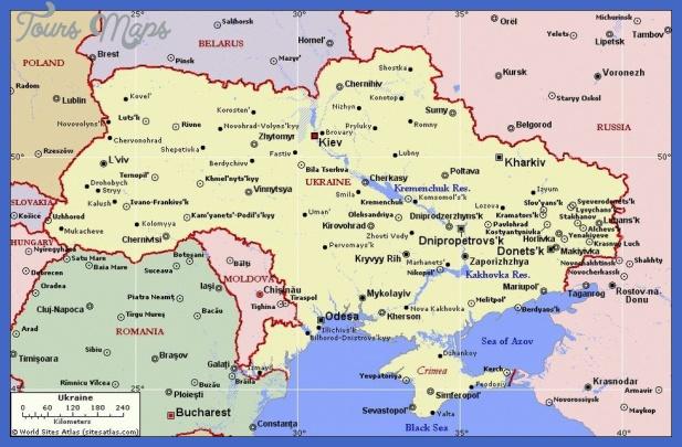 ukraine map  1 Ukraine Map