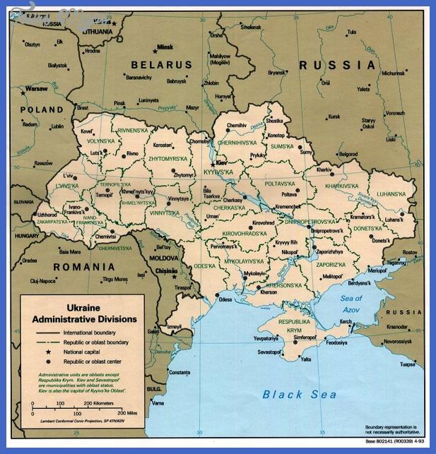 ukraine map  2 Ukraine Map