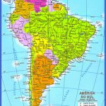 venezuela is located in south america between colombia 150x150 Venezuela Map Tourist Attractions