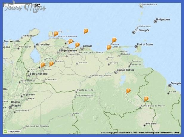 Venezuela Map Tourist Attractions  _0.jpg