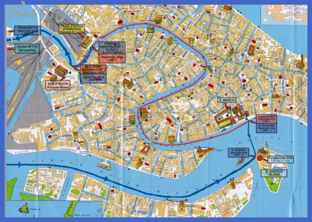 venice tourist map 2 mediumthumb Sudan Map Tourist Attractions