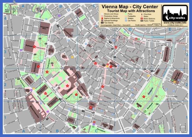vienna map  1 Vienna Map