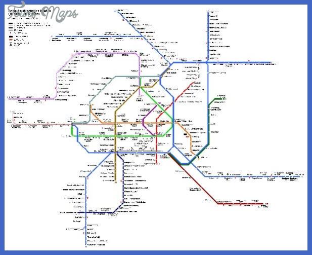 vienna map metro Vienna Subway Map