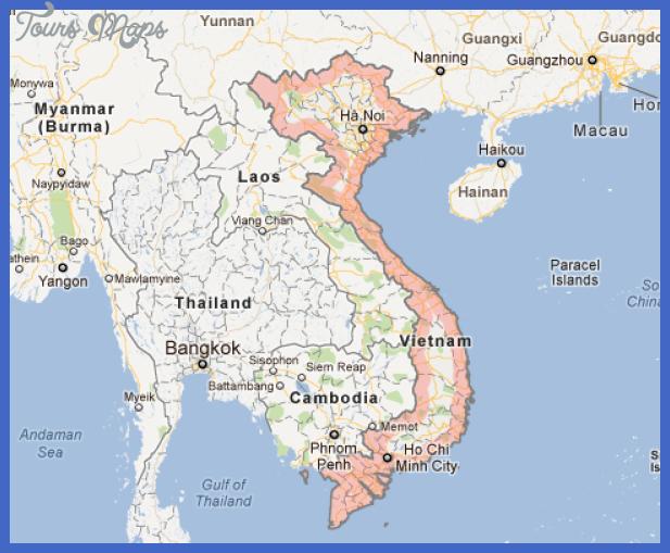 vietnam map Vietnam Subway Map