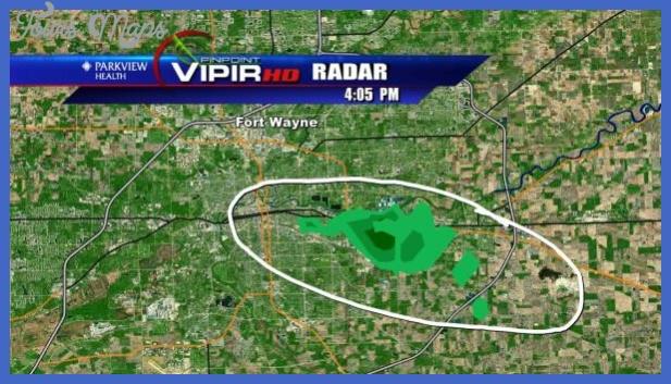 vipir radar Fort Wayne Metro Map