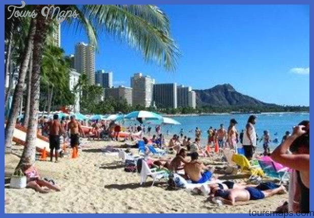 waikiki beach01 Best places to vacation USA