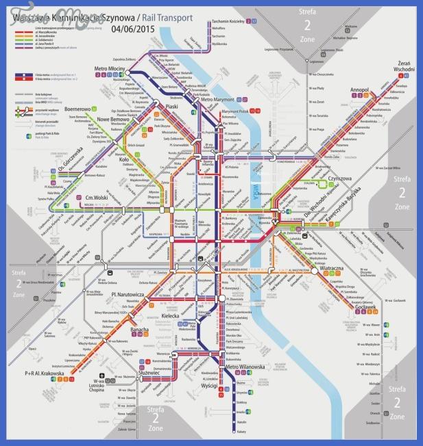 warsaw subway map  0 Warsaw Subway Map
