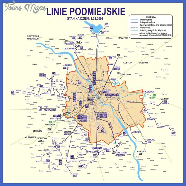 warsaw5 Warsaw Metro Map