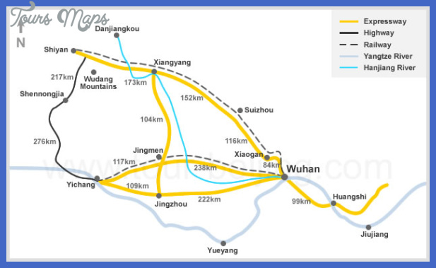 wuhan map tourist attractions  7 Wuhan Map Tourist Attractions