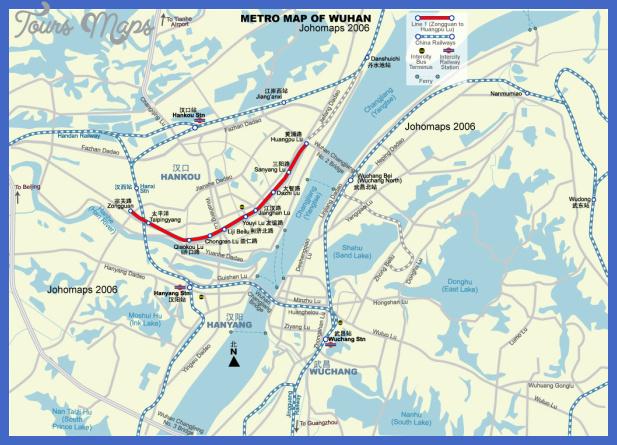 wuhan metro map  39 Wuhan Metro Map