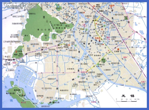 wuxi map tourist attractions  3 Wuxi Map Tourist Attractions