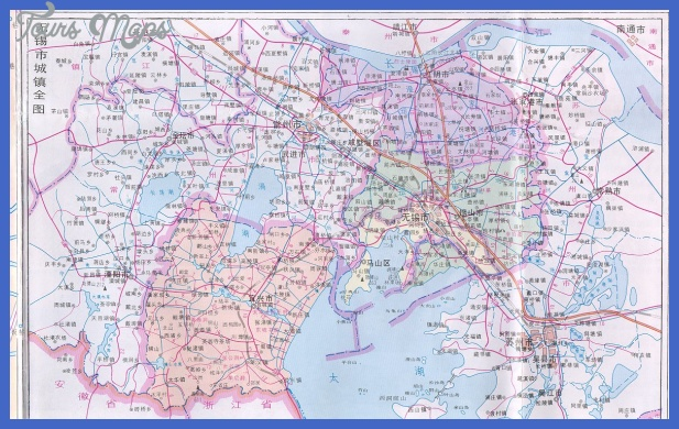 wuxi map tourist attractions  7 Wuxi Map Tourist Attractions