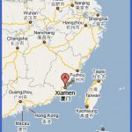 xiamen map small 150x150 Garland Map Tourist Attractions