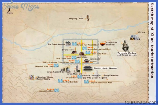 Xi'an Map Tourist Attractions _6.jpg