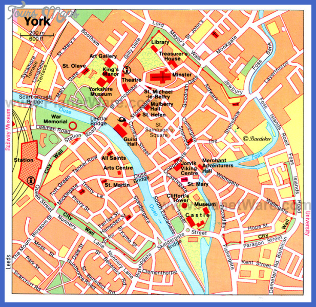 New York Map Tourist Attractions Map Travel Holiday Vacations
