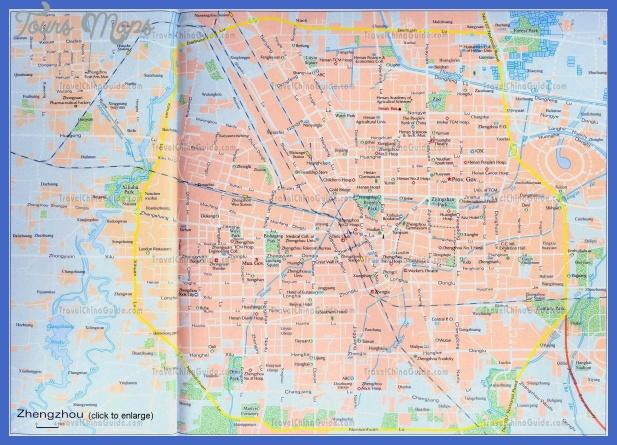 zhengzhou map tourist attractions  0 Zhengzhou Map Tourist Attractions