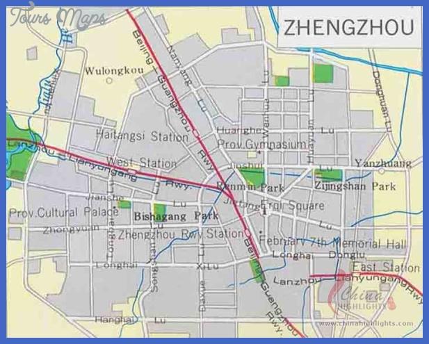 zhengzhou map tourist attractions  2 Zhengzhou Map Tourist Attractions